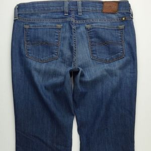 Lucky Brand Charlie Flare Jeans Women's 8 A454J